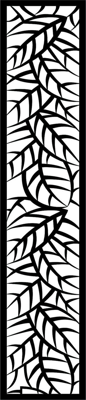 Ażurowy parawan na cnc z drewna