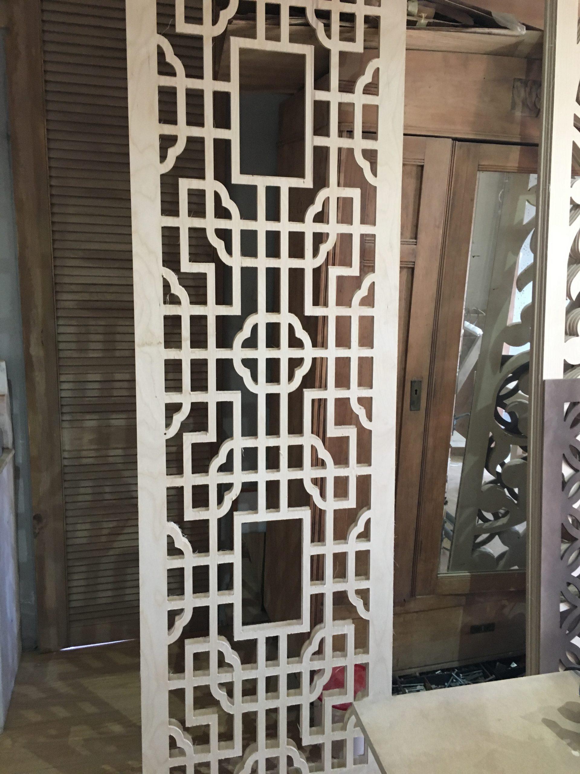 Panel ozdobny geometryczny