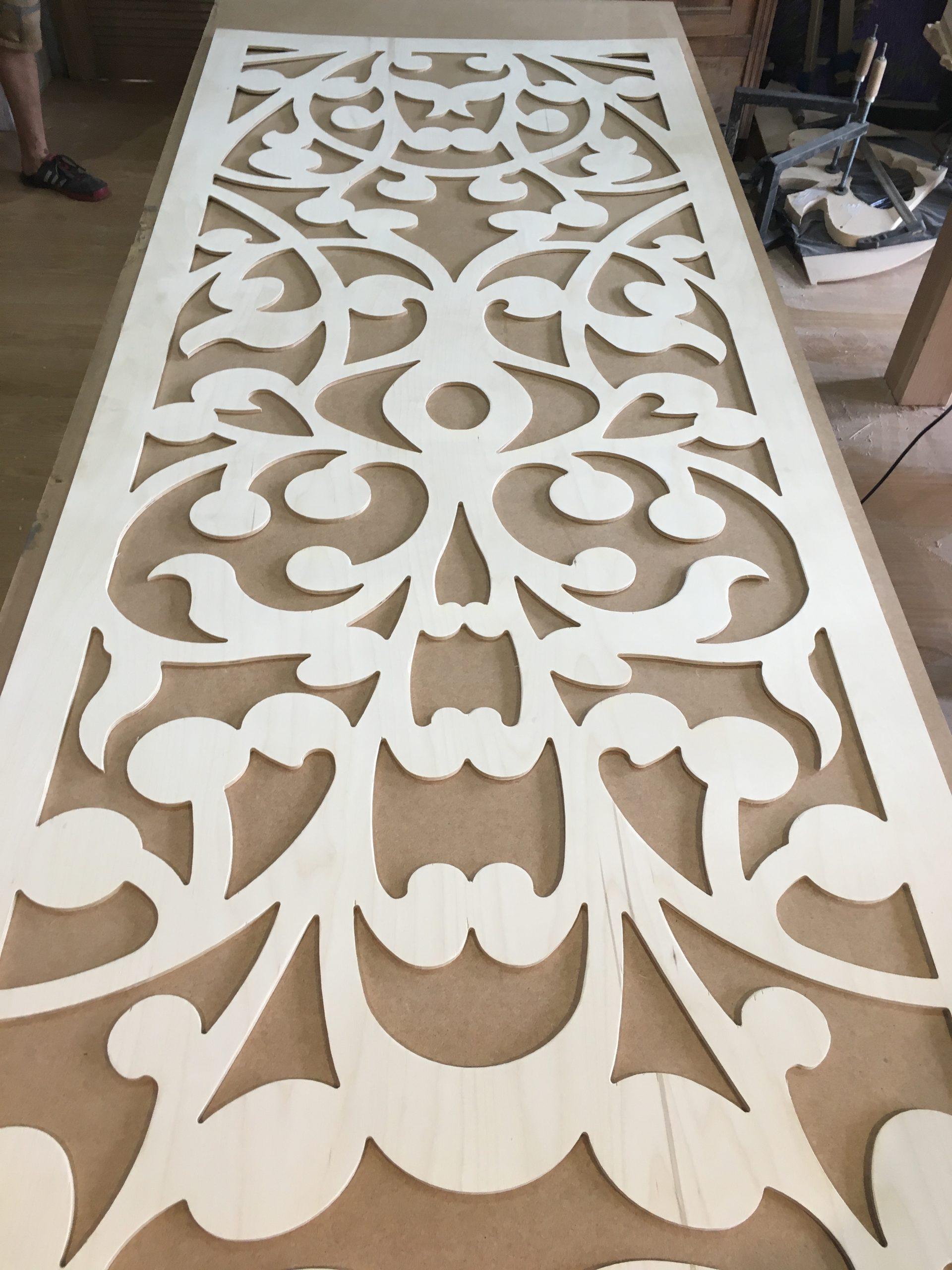 Panel ozdobny ażurowy