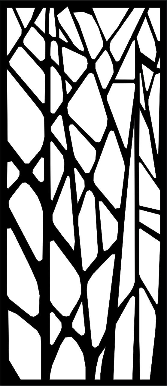 Panel dekoracyjny geometryczny