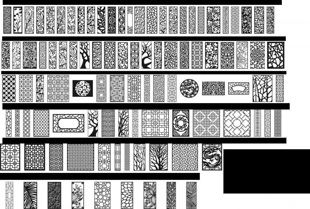 Przykłady paneli ażurowych